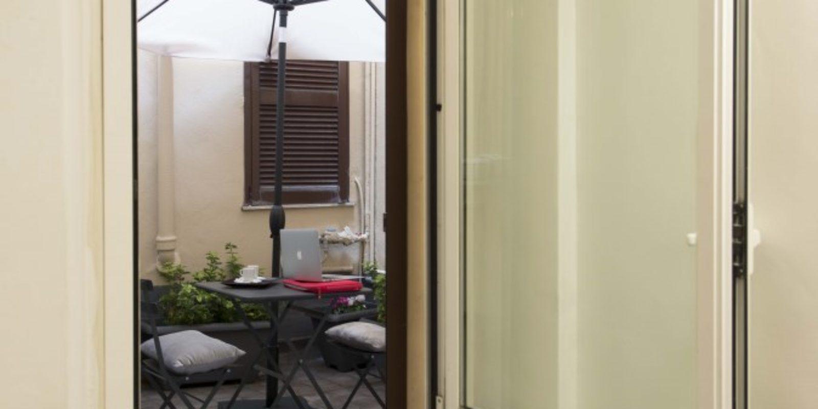 Ingresso patio